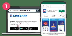 cara daftar kiosbank 1
